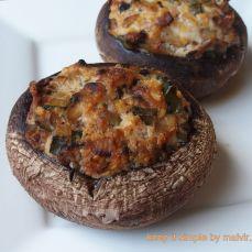 ciuperci Portobello umplute