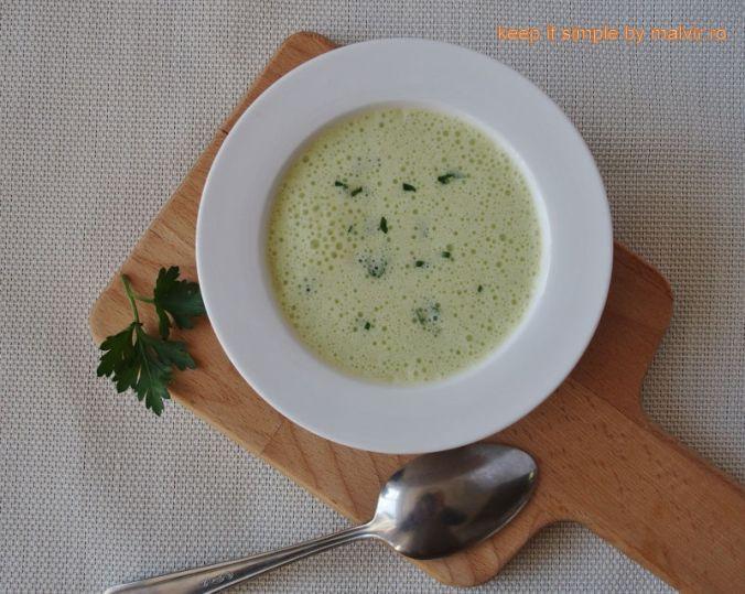 supa crema usturoi