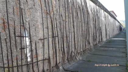 ramasita din Zidul Berlinului